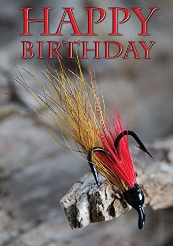 Salmon Fly Fishing Birthday Card By Charles Sainsbury Plaice Charles Sainsbury Plaice Cards Http Www Amazon Co Uk Birthday Cards Salmon Flies Fishing Gifts