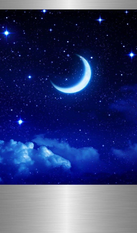 Pin By Gralyne Watkins On Luxury Nature Wallpaper Galaxy Wallpaper Night Sky Moon