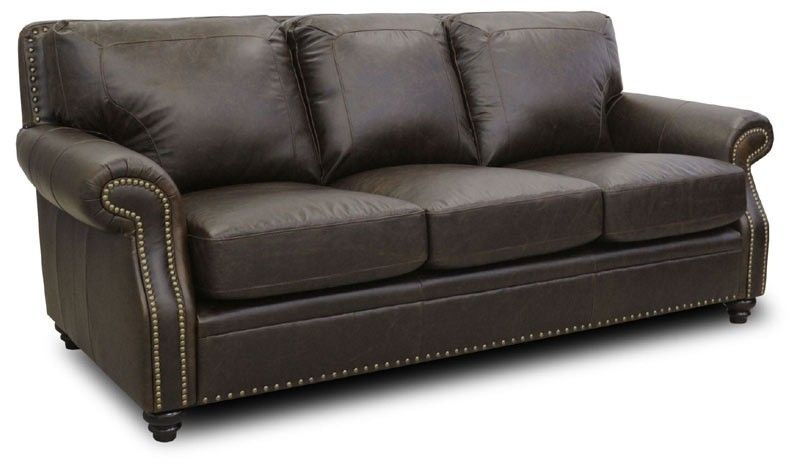 Luke Leather   Mason Arabica Italian Leather Sofa In Closeout   MASON S  CLOSEOUT