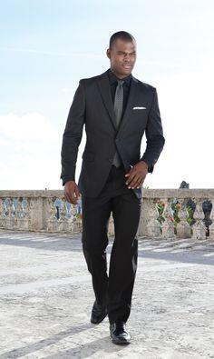 Image result for black business style for men | Wardrobe ...