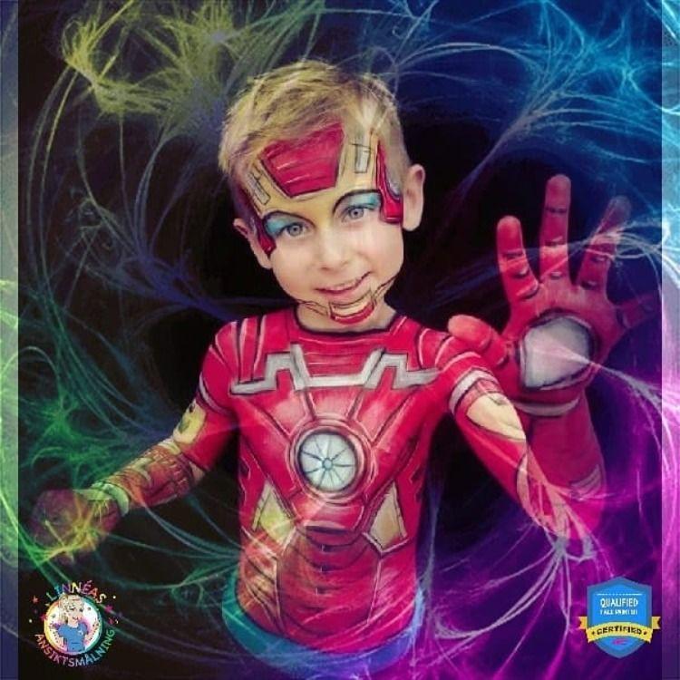 Super Hero Face Painting Design Ideas