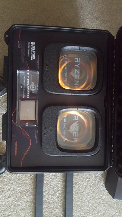 Amd Threadripper 1950x 16 Core 32 Thread And 1920x 12 Core 24 Thread Procs Arrived Earlier This Week For Testing Who Else Is Excited Amd Unboxing Wellness