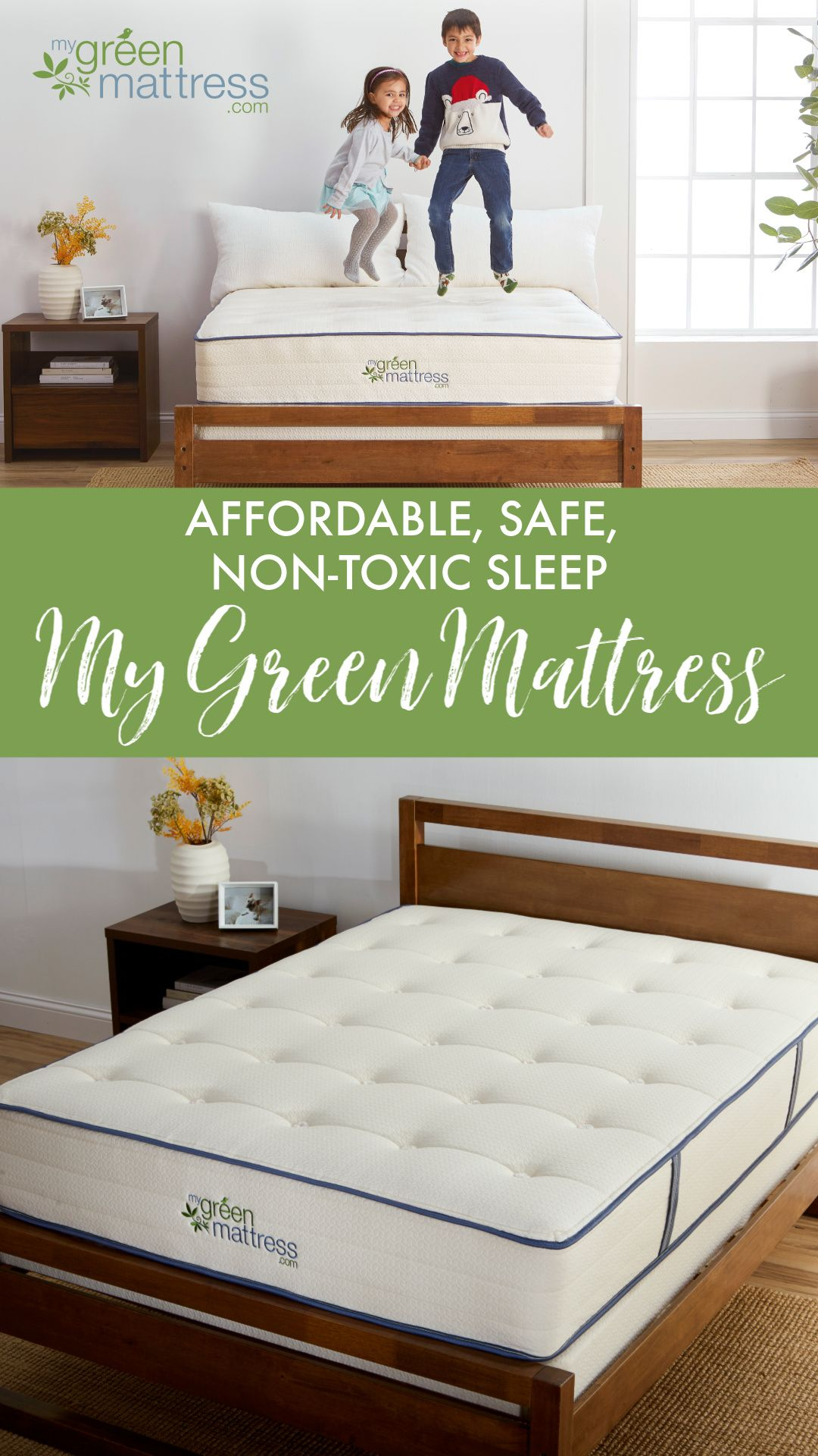When Parents Ask Us About Choosing A Non Toxic Mattress One Of Their Main Concerns Is Affordability We Get It M Green Mattress Organic Mattresses Mattress