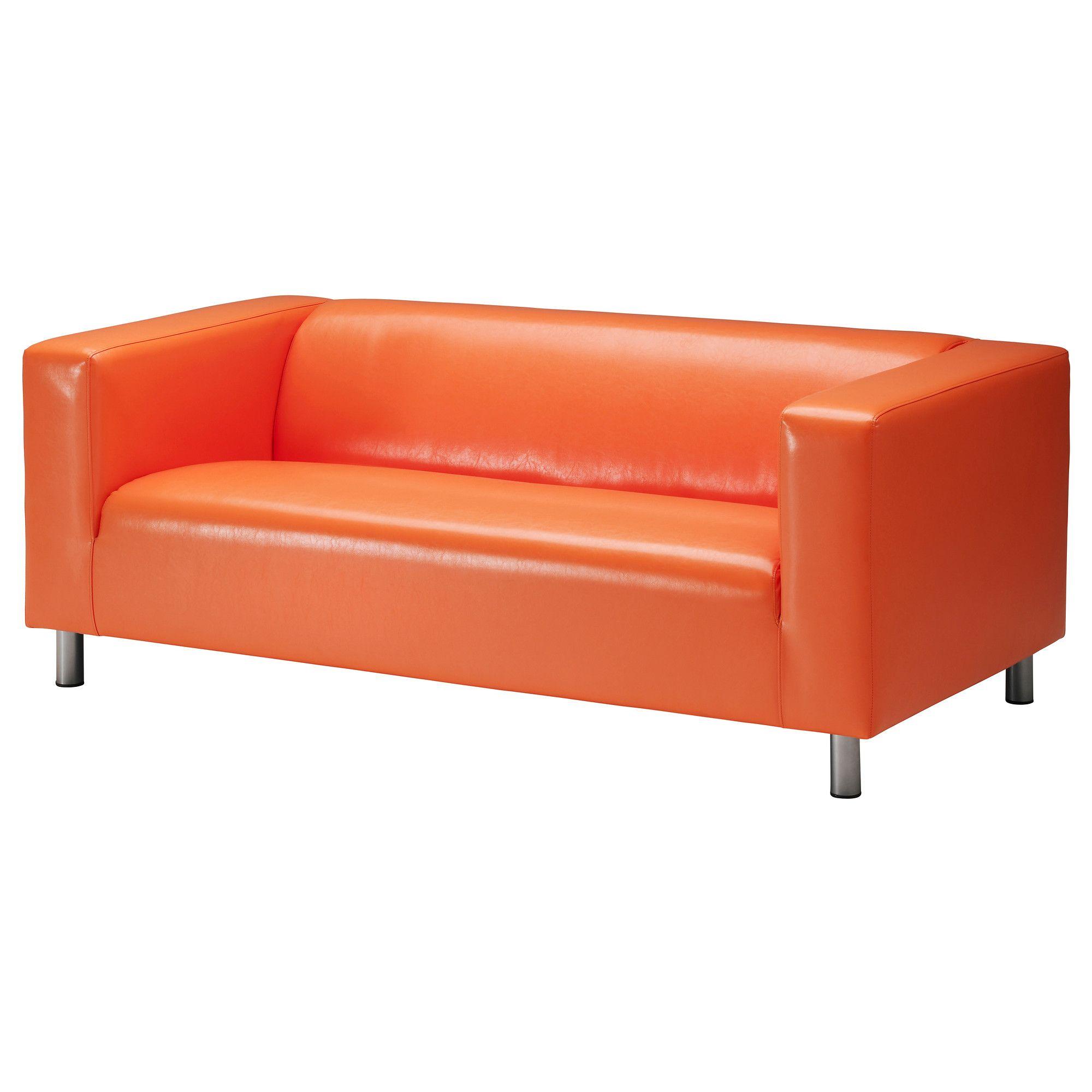 Products Orange Leather Sofas Love Seat Ikea Sofa