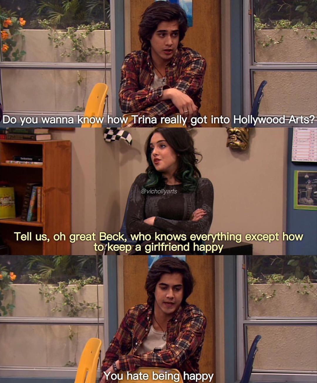 Episode How Trina Got In With Images Icarly And Victorious