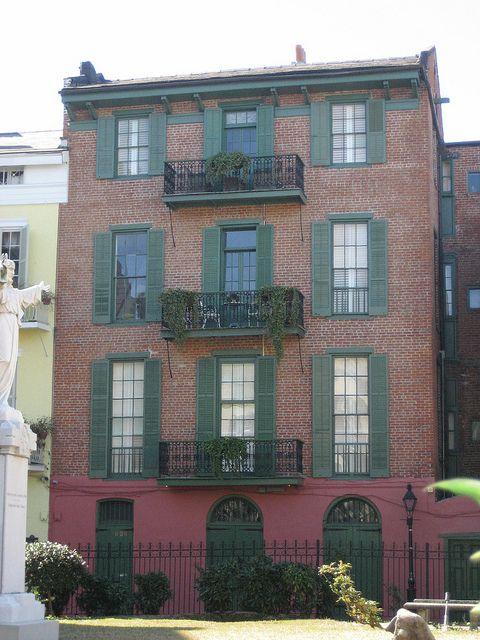 626 Orleans Alley Built C 1840 Building Orleans New Orleans Louisiana
