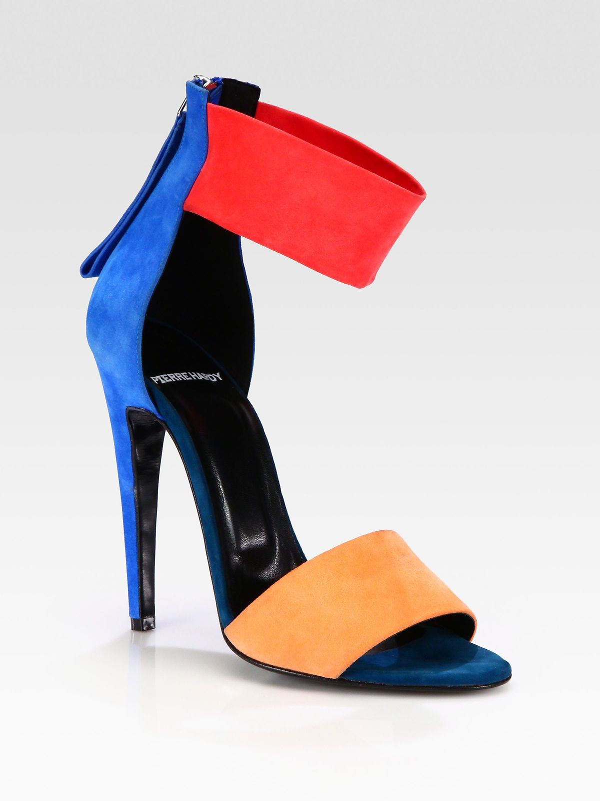 Pierre Hardy Suede Ankle Strap Sandals clearance best place ZeWJwc