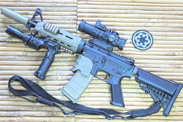 WE Airsoft M4A1 AEG Review Part 1   The Armory   Guns