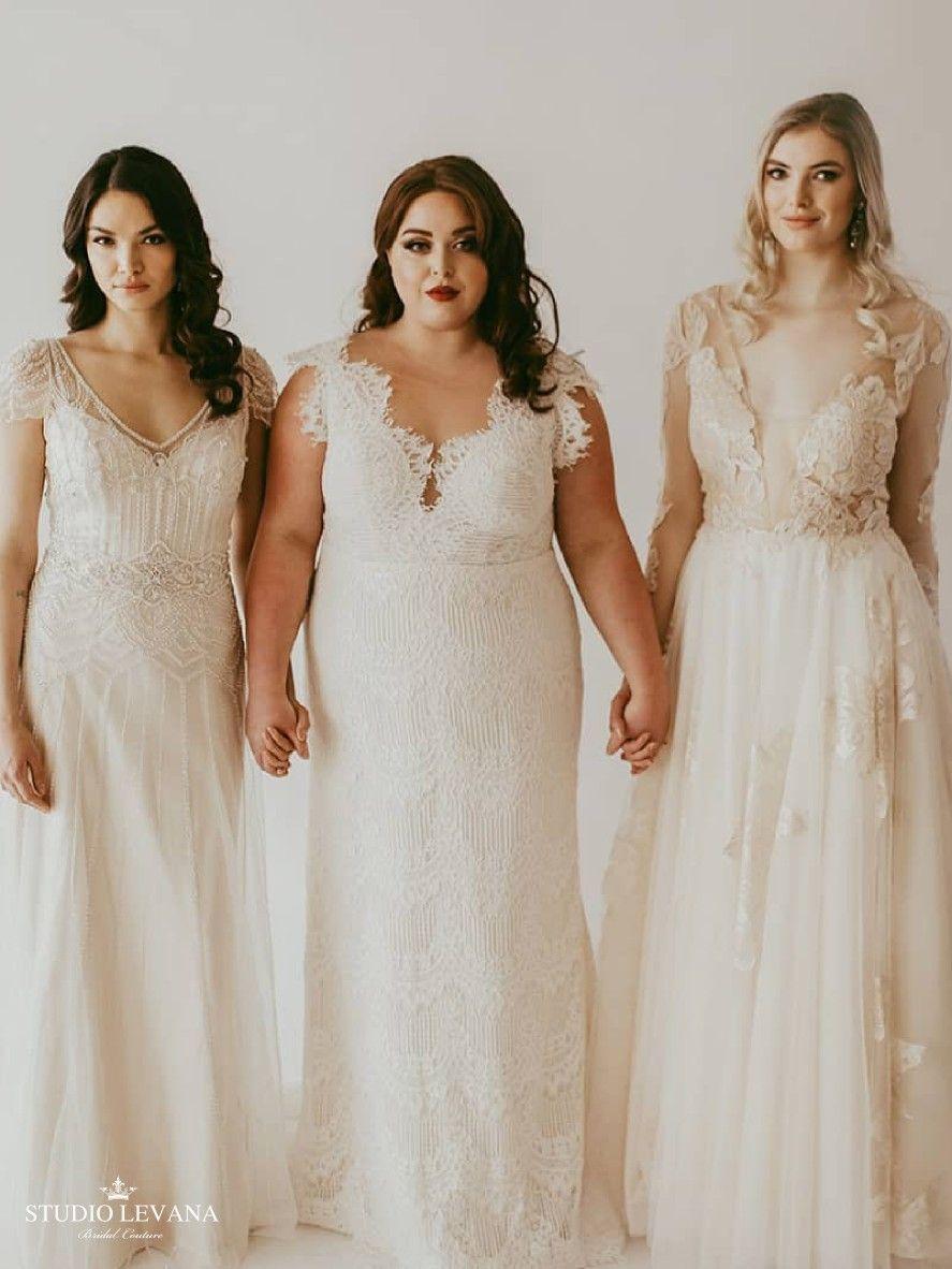 All Size Beautiful Initiative With Plus Size Mermaid Boho Wedding Dress Esme Studio Levana By Novelle Bridal [ 1182 x 887 Pixel ]