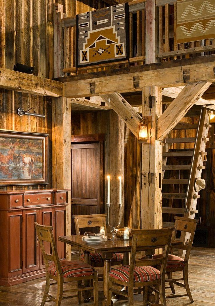 Chalet en bois à l\u0027âme très rustique