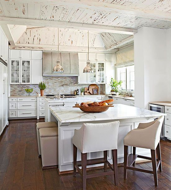Kitchen Island Furniture With Seating: Large Island Seating For 6