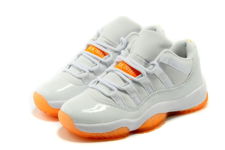 "in stock 54c1d 585e3 Air Jordan 11 Retro Low GS ""Citrus"""