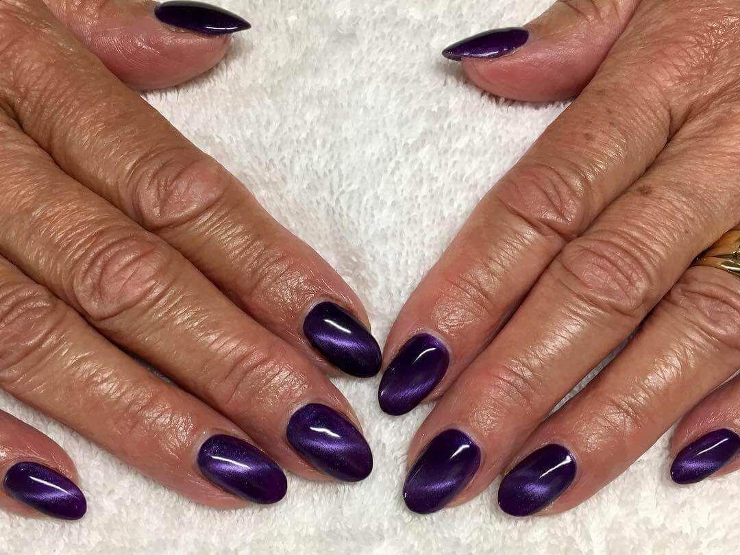 Uñas decoradas Color Purpura +80 diseños   Decoración de Uñas - Nail ...