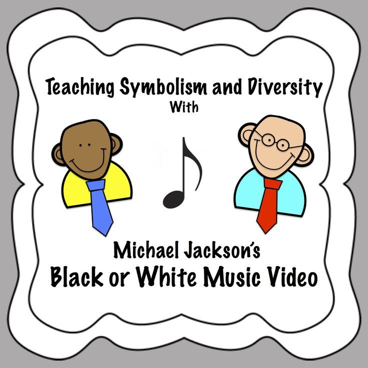 Teach Symbolism And Diversity With Michael Jacksons Black Or White