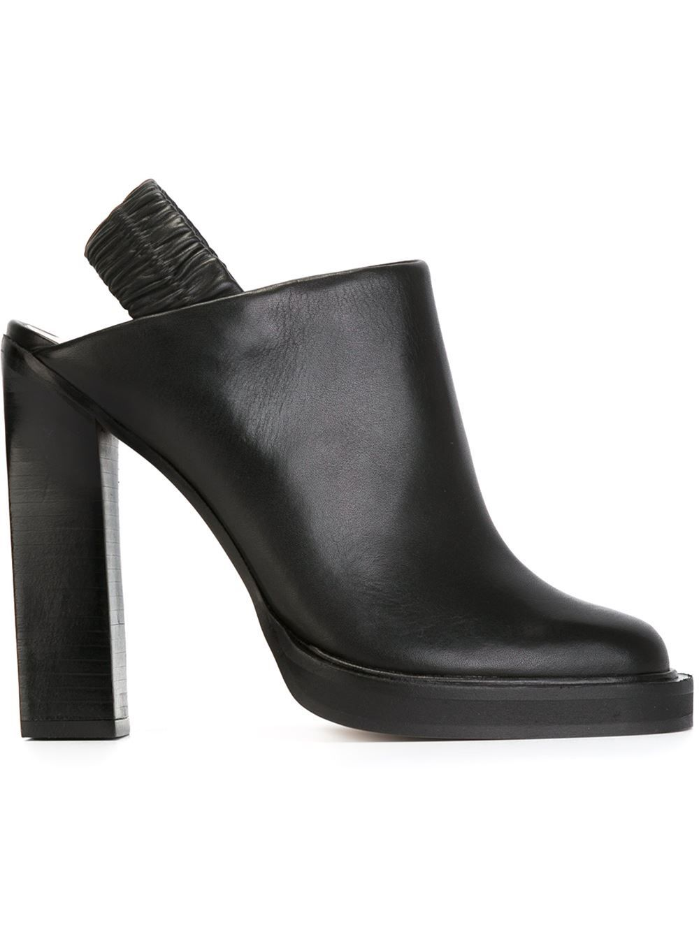 Carven chunky heel mules