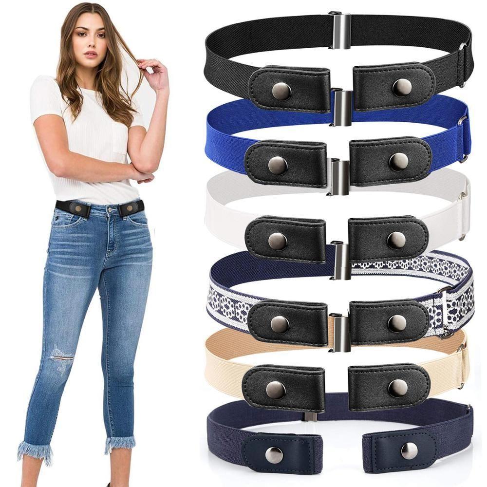 20 styles bucklefree waist belt for jeans pantsno buckle
