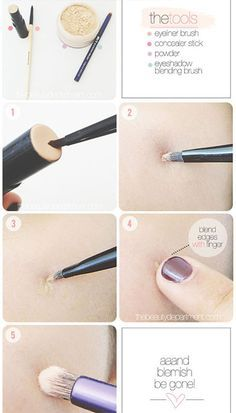 Concealer Hacks How To Cover Up Pimples Dark Circles Concealing