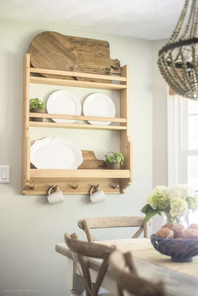 Farmhouse breakfast nook reveal create  cozy gathering space in your home also kitchen ideas pinterest rh