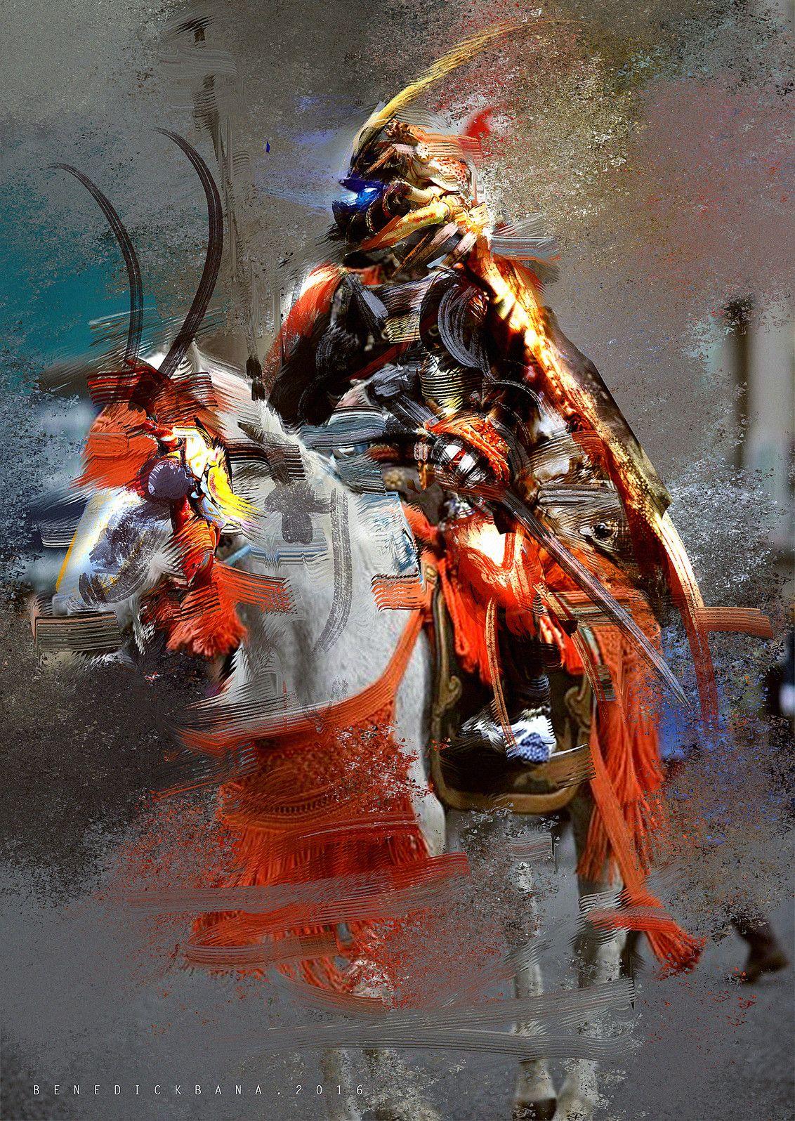 Samurai Crab Armor, Benedick Bana on ArtStation at https://www.artstation.com/artwork/QGm2x