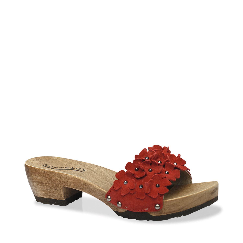 Flowerpower für die Zehen. Mit JAVIA und den bunten Blumenapplikationen kommt sofort Sommerstimmung auf und man freut sich auf die ersten Sonnenstrahlen und ein Picknick im Park. Stylen Sie zu dieser Pantolette charmant-feminine Looks wie ein knieumspielendes Kleid. #münchen #softclox #sommer #shoes #frühjahr #kaschmir #persia