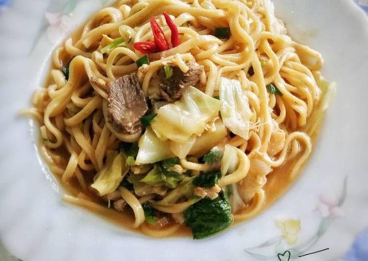 Resep Mie Jawa Mie Tek Tek Oleh Shasa Resep Resep Resep Makanan Resep Masakan
