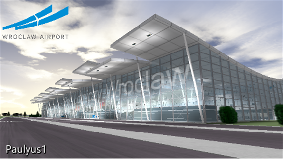 EPWR | Wroclaw Strachowice Intl  Airport, a Free Game by