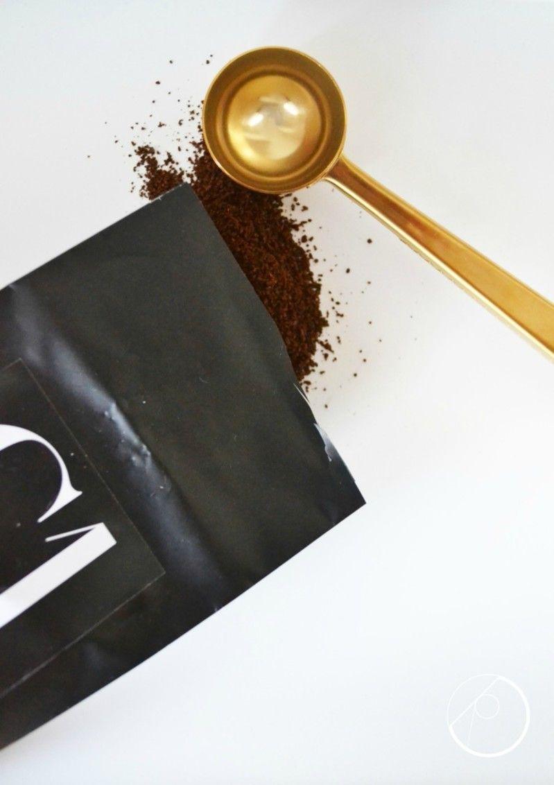 Nicolas Vahé coffee and coffeespoon