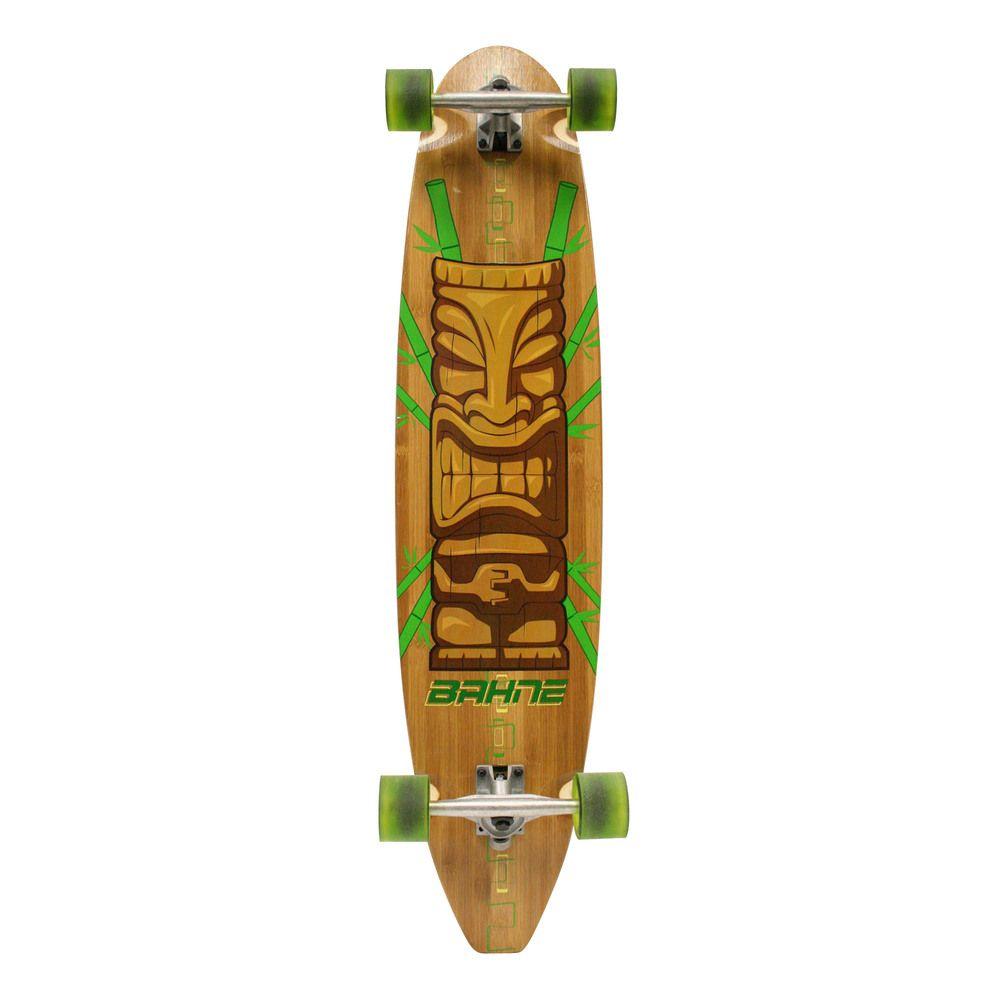 Bahne Bamboo Tiki Classic Longboard   Overstock.com   GABE