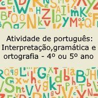 8cd75e34758 Atividade de português  Interpretação