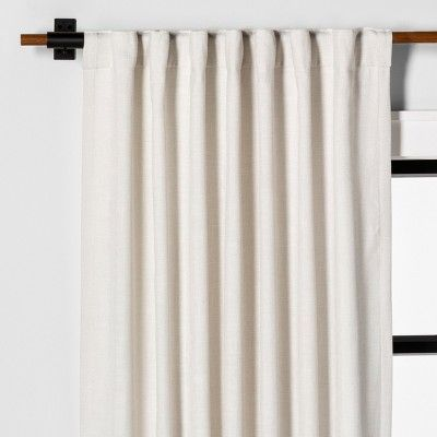 108 Curtain Panel Solid Sour Cream Hearth Hand With Magnolia