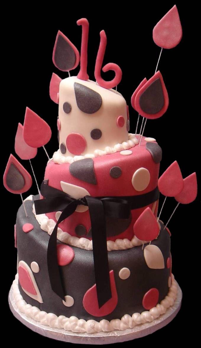 Pin By Melisa Cilino On Food Pinterest Cake 16 Birthday Cake