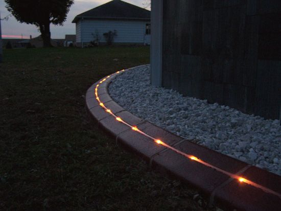 Kwik Kerb Eurostyle Landscape Lighting And Curb Lighting Home - Design continuous free form concrete landscape edging by kwik kerb