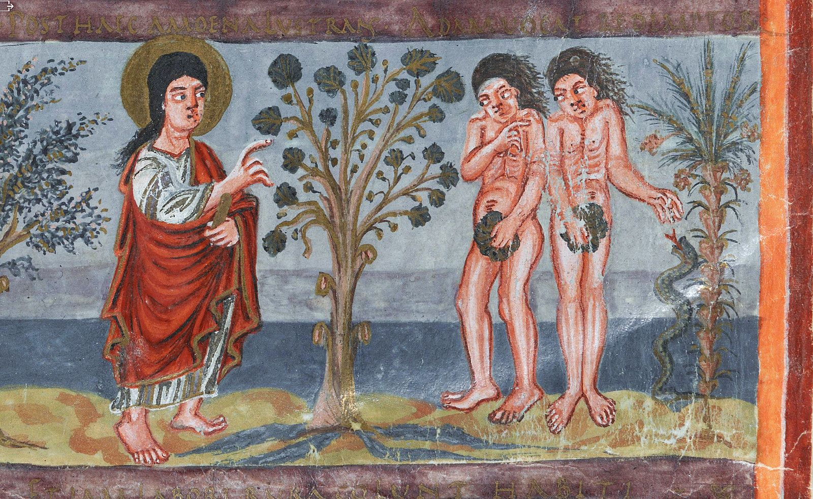 god asks adam and eve who has done it answer adam eve
