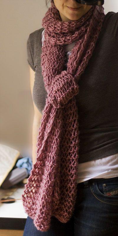 Ravelry Weekend Scarf Pattern By Londonleo Knitting Pinterest