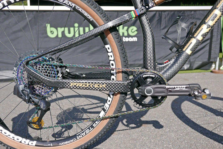 Protek 29fsteam Prototype Full Suspension Carbon Xc Bike Vlad Dascalu Brujula Bike Racing Team Racing Bikes World Cup Bike