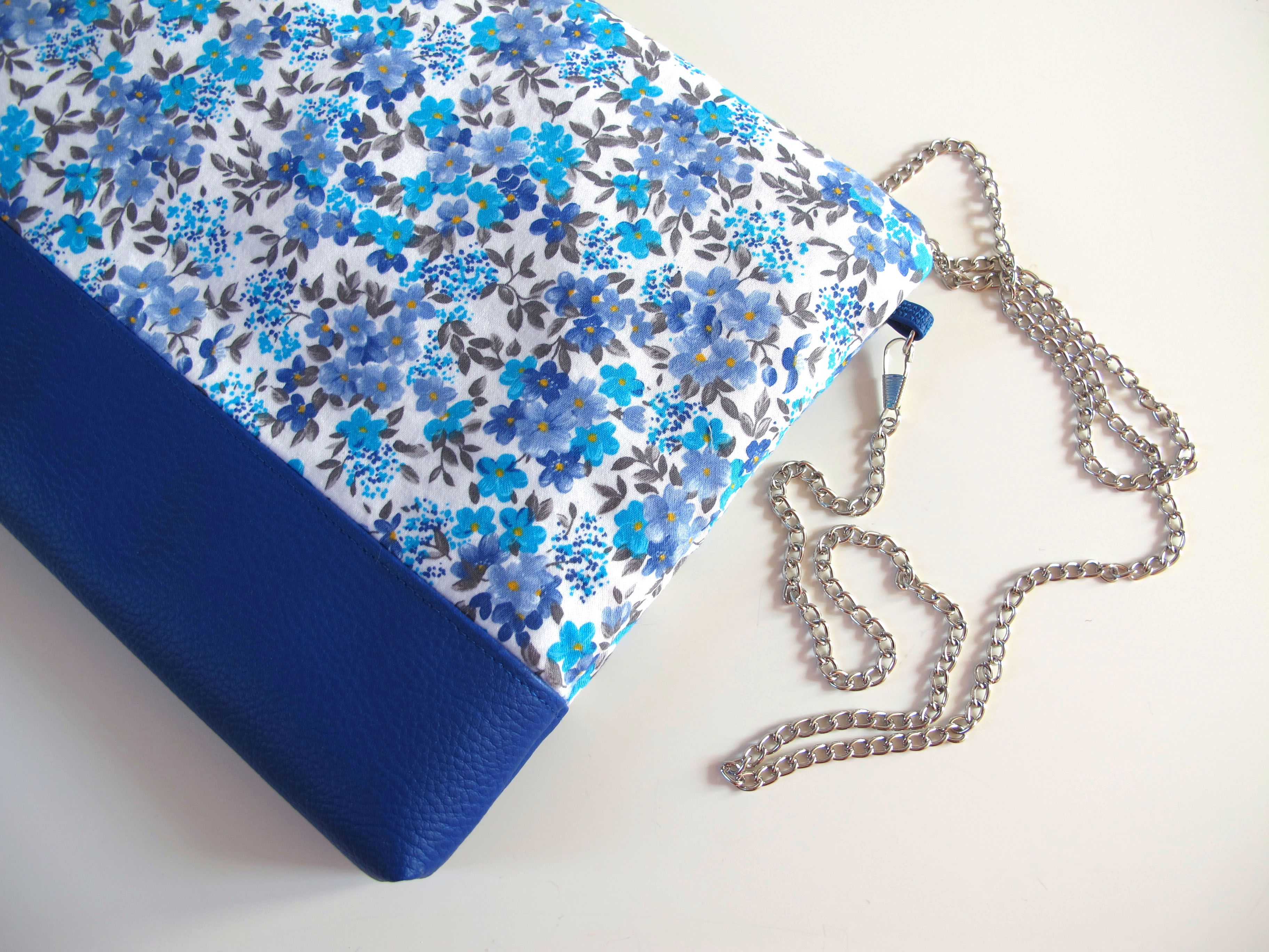 Fiori Blu E Bianchi.Blue And White Flowers Shoulder Bag Nel 2019 Blue Inspiration
