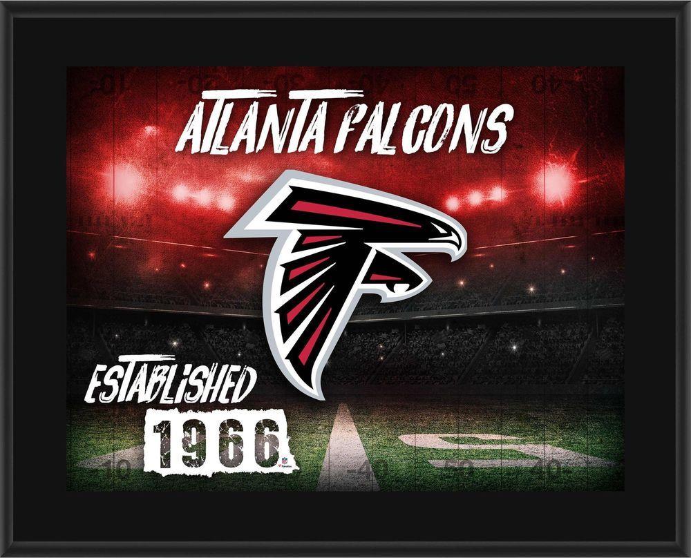 Atlanta Falcons 10 5 X 13 Sublimated Horizontal Team Logo Plaque Fanatics Authentic Certified Team Atlanta Atlanta Falcons Atlanta Falcons Fans Falcons