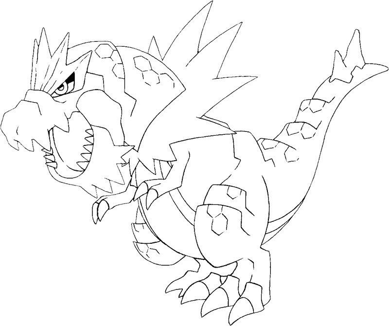 Coloriage Pokemon Legendaire X Et Y Pokemon Drawing Tutorial