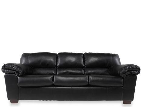 ASH 6450038   Ashley Commando Black Sofa | Mathis Brothers Furniture