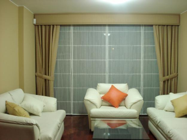 modelos de cortinas para salas y comedores