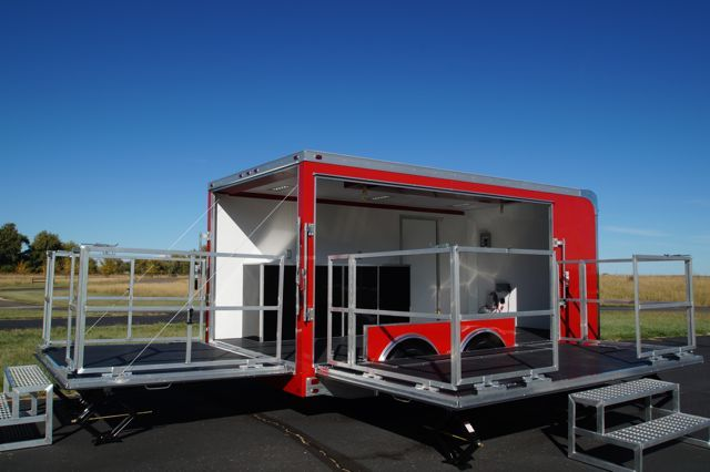 Mobile Marketing Stage Trailer For Sale At Complete Trailers We Ll