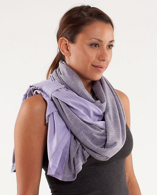 thoughts scarf lululemon 78 its purple and sparkly