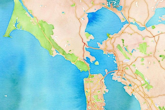 Free Watercolor Maps My New Favorite Website Watercolor Map