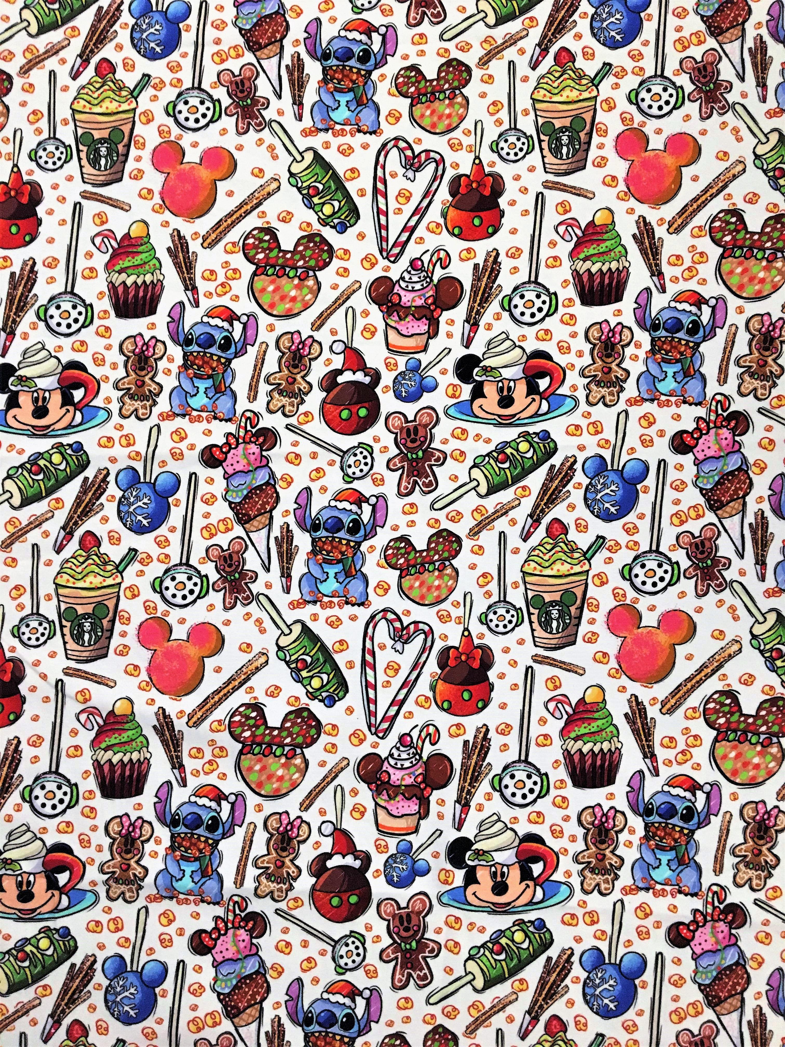 Disney Christmas Wallpaper Fabric Wallpaper Iphone Disney Disney Characters Wallpaper Disney Background