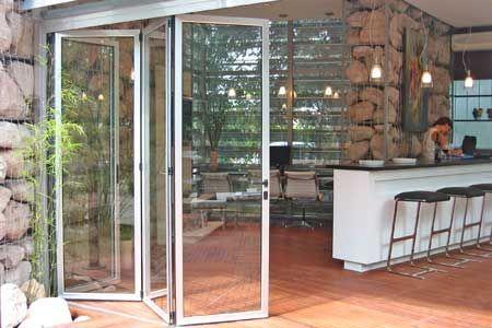 Puertas plegadizas de aluminio para ba o buscar con - Cerramientos plegables de vidrio ...