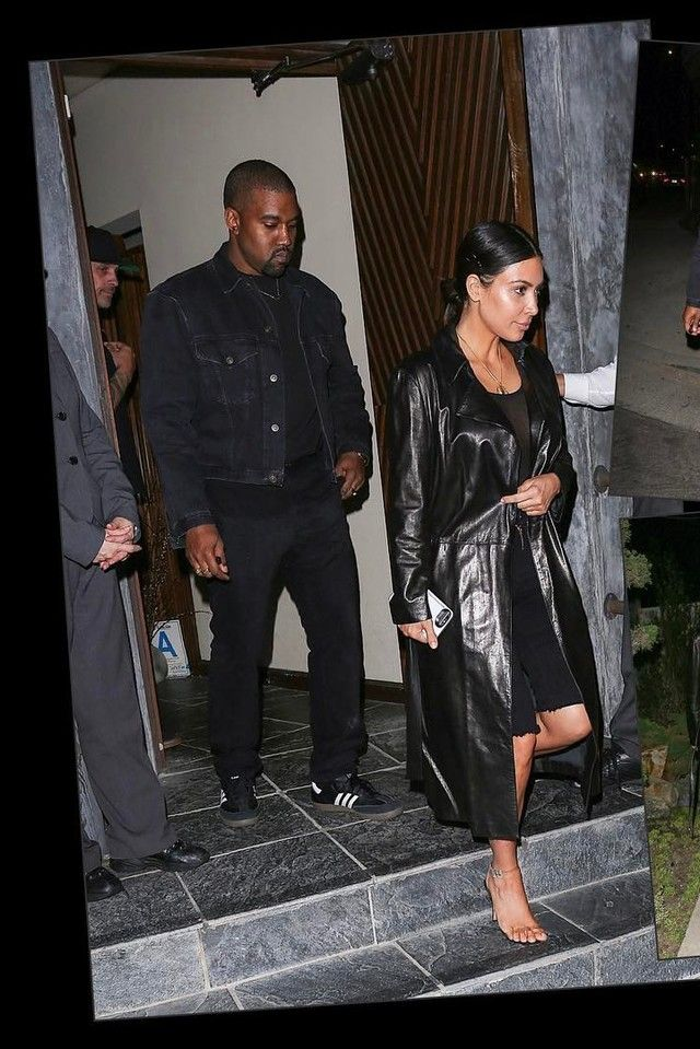 Kanye West Leaves Dinner With Kim On Looklive