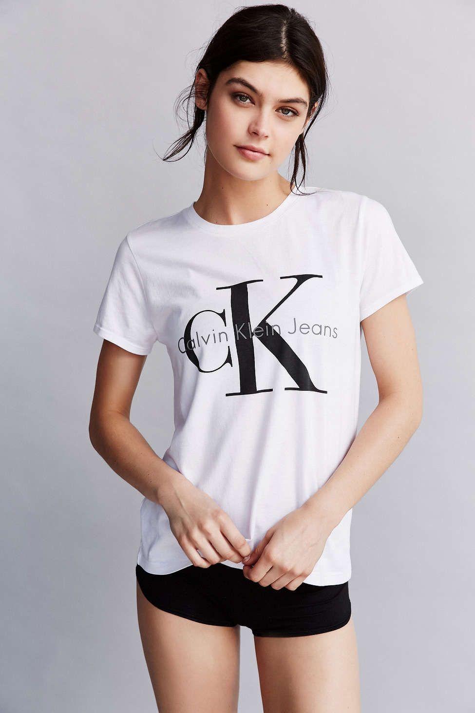 97cc9ee31df Calvin Klein Tee Shirt - Urban Outfitters