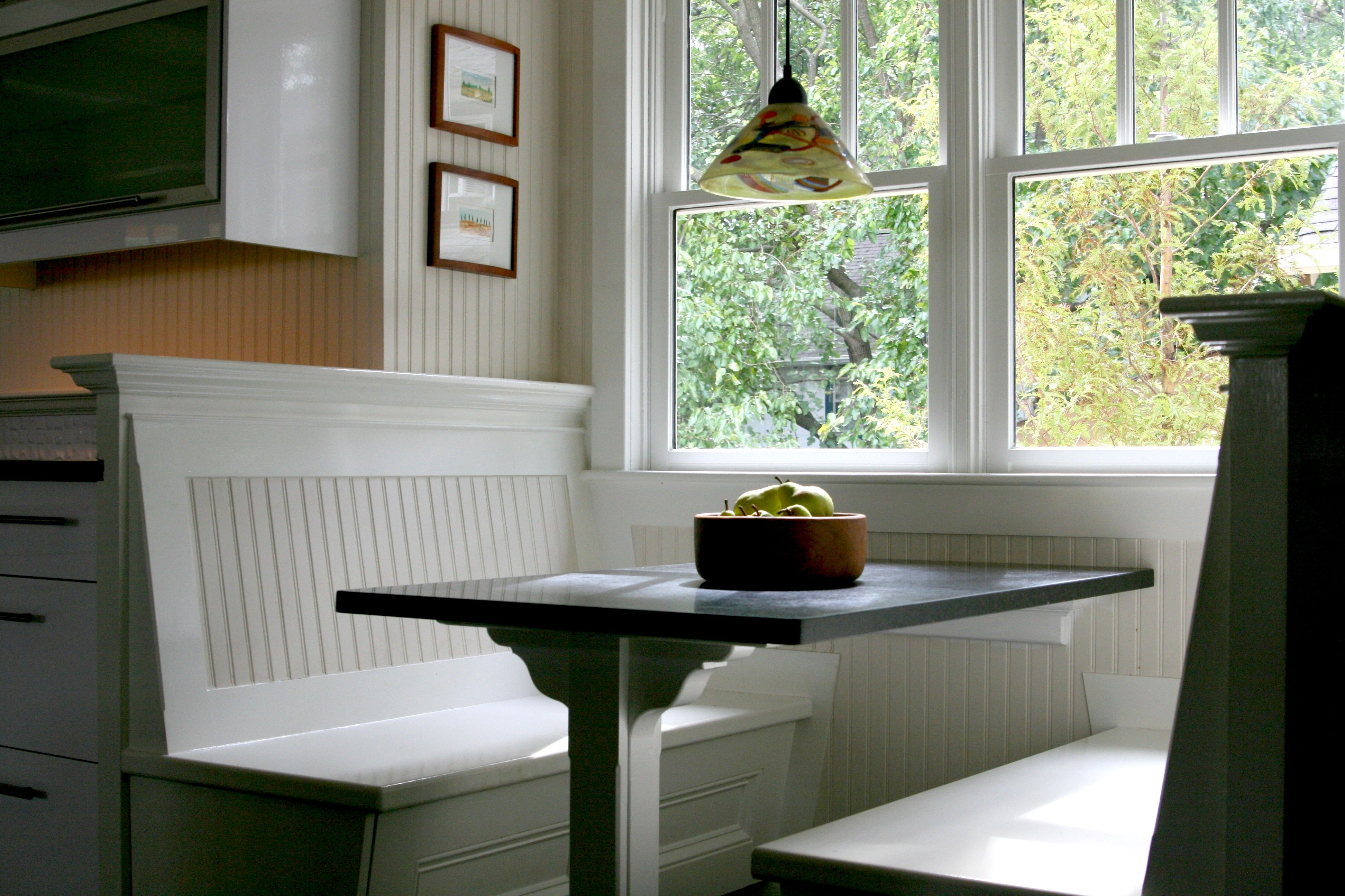 I Like The Back Of This Bench Seat Alluring Kitchen Booth Designs Decorating Design