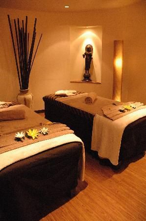 Spa room decor on pinterest spa decorations spa facial for Asian wedding bed decoration
