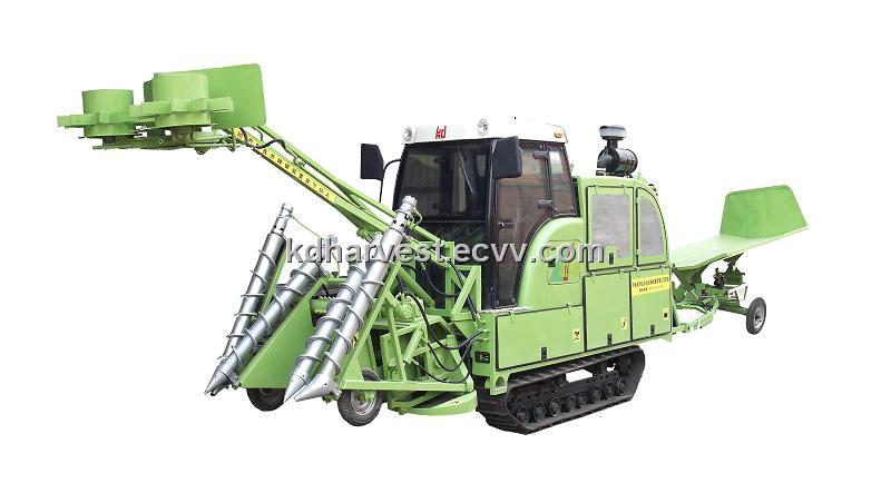 Crawler Sugarcane Combine Harvester (4GZD-75) (4GZD-75) - China Combine Harvester;Crawler Sugarcane Combine Harvester, Kunda